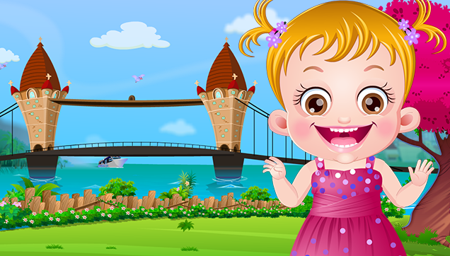 Enjoy Singing Game With London Bridge is Falling Down
