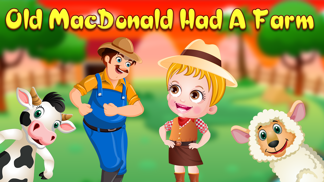 Learn About Animals Sound In Old MacDonald Had A Farm Rhyme