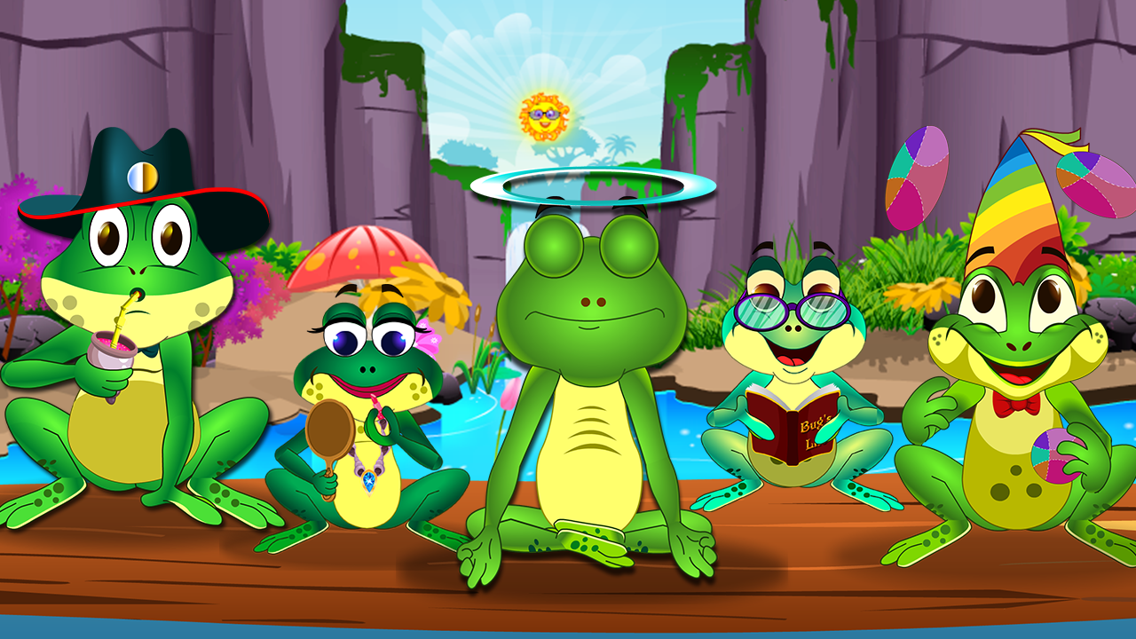 Delight In Singing Five Little Speckled Frogs Nursery Rhyme