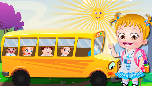Fun In Singing The Wheels on The Bus Nursery Rhyme
